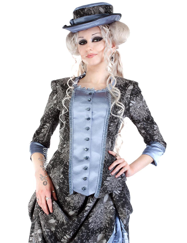Викторианское платье конца 19 ст., 9