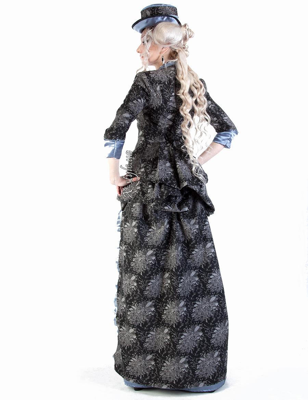 Викторианское платье конца 19 ст., 3