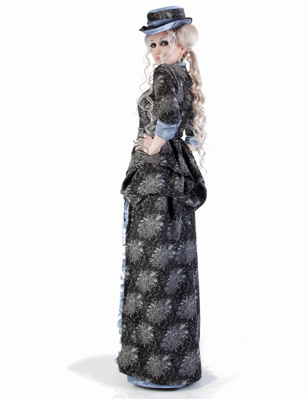 Викторианское платье конца 19 ст., 5