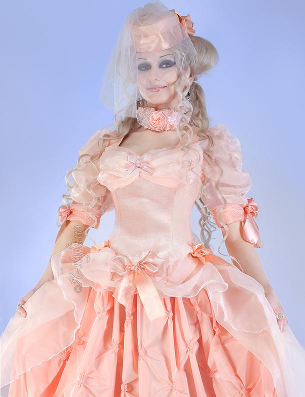 Бальное Викторианское платье 2 пол. 19 ст., 5