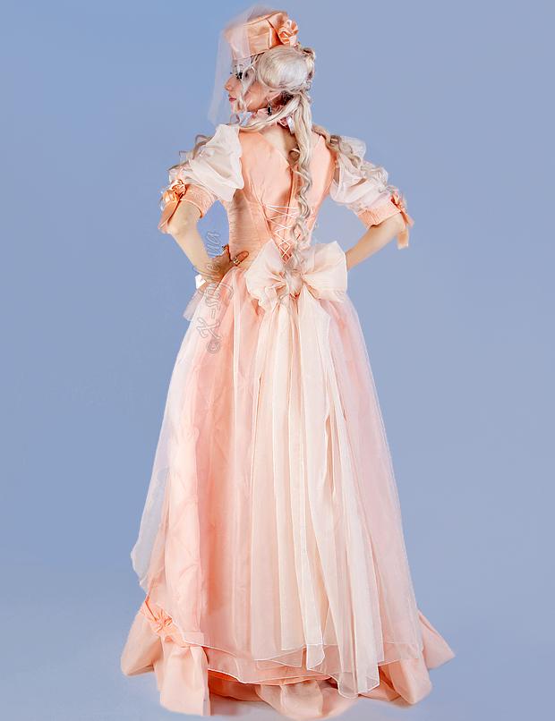 Бальное Викторианское платье 2 пол. 19 ст., 3