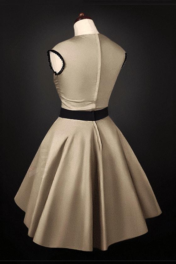 Платье в стиле 50-х с подъюбником, 3