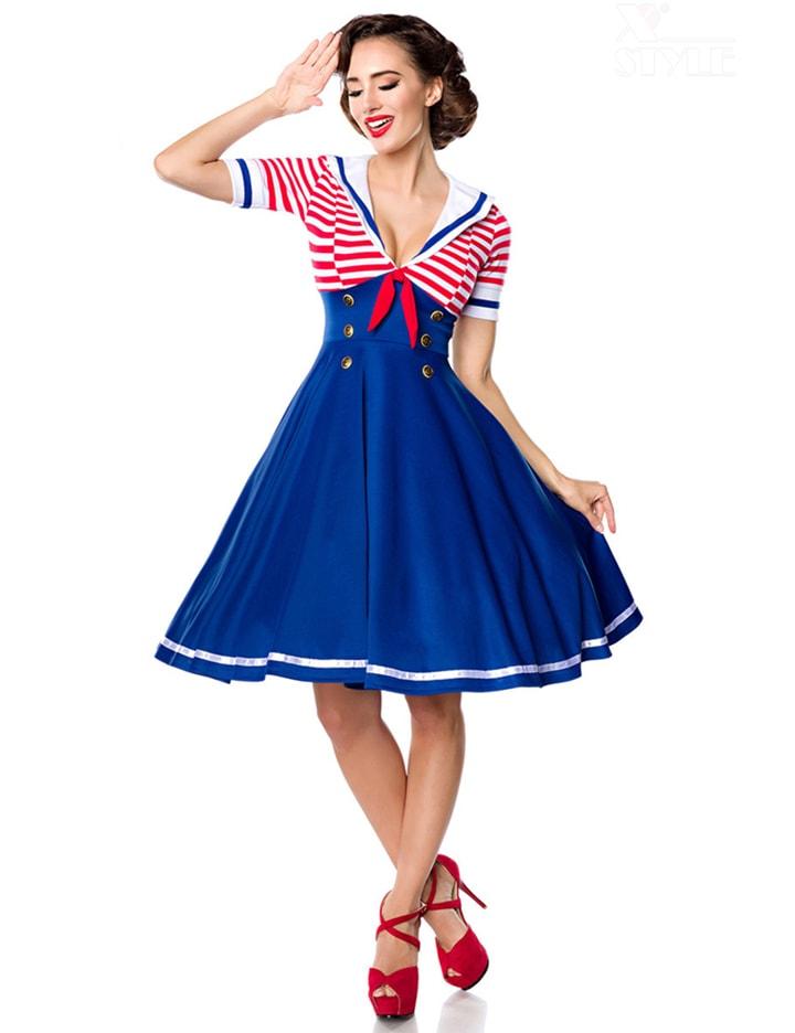 Ретро-платье с декольте Belsira, 7