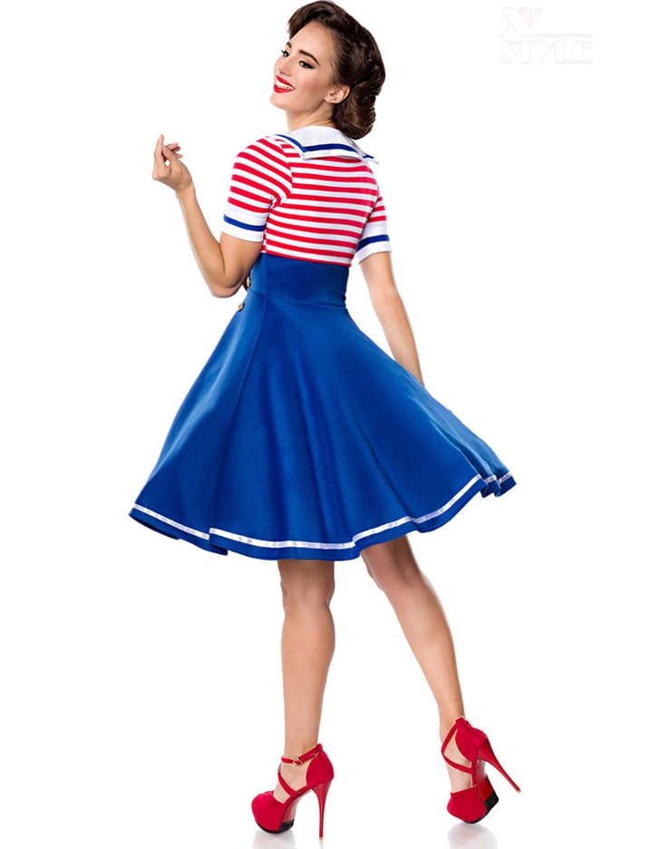Ретро-платье с декольте Belsira, 3