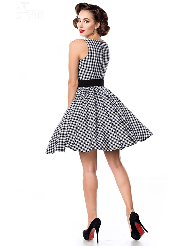 Платье в стиле 50-х с поясом, 3