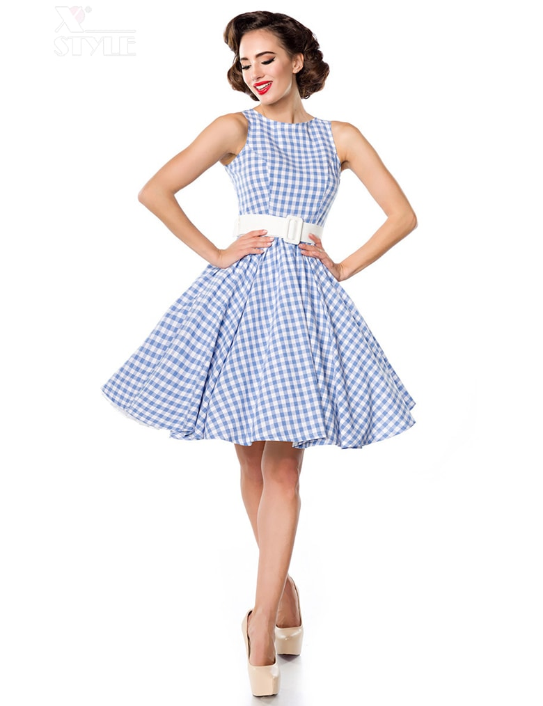 Хлопковое платье в стиле 50-х, 7