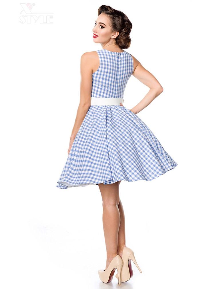 Хлопковое платье в стиле 50-х, 3