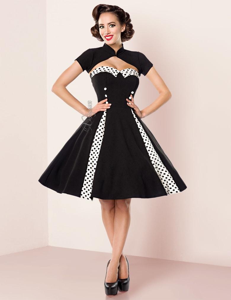 Винтажное платье с болеро Belsira, 3