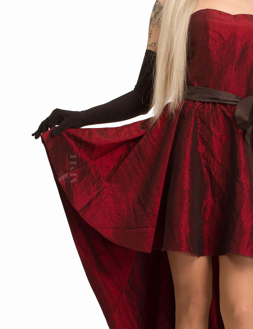 Платье со шлейфом XT5274, 7