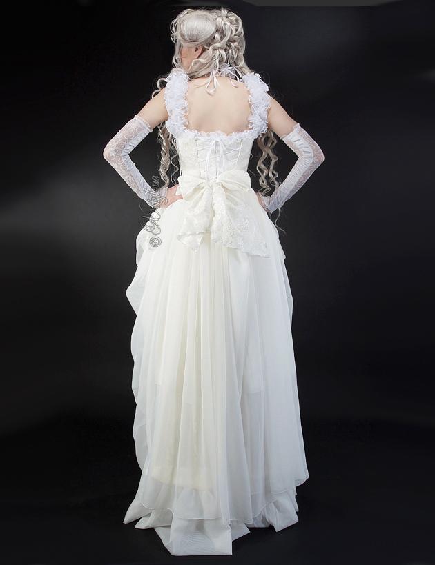 Свадебное платье 2 пол. 19 ст., 5