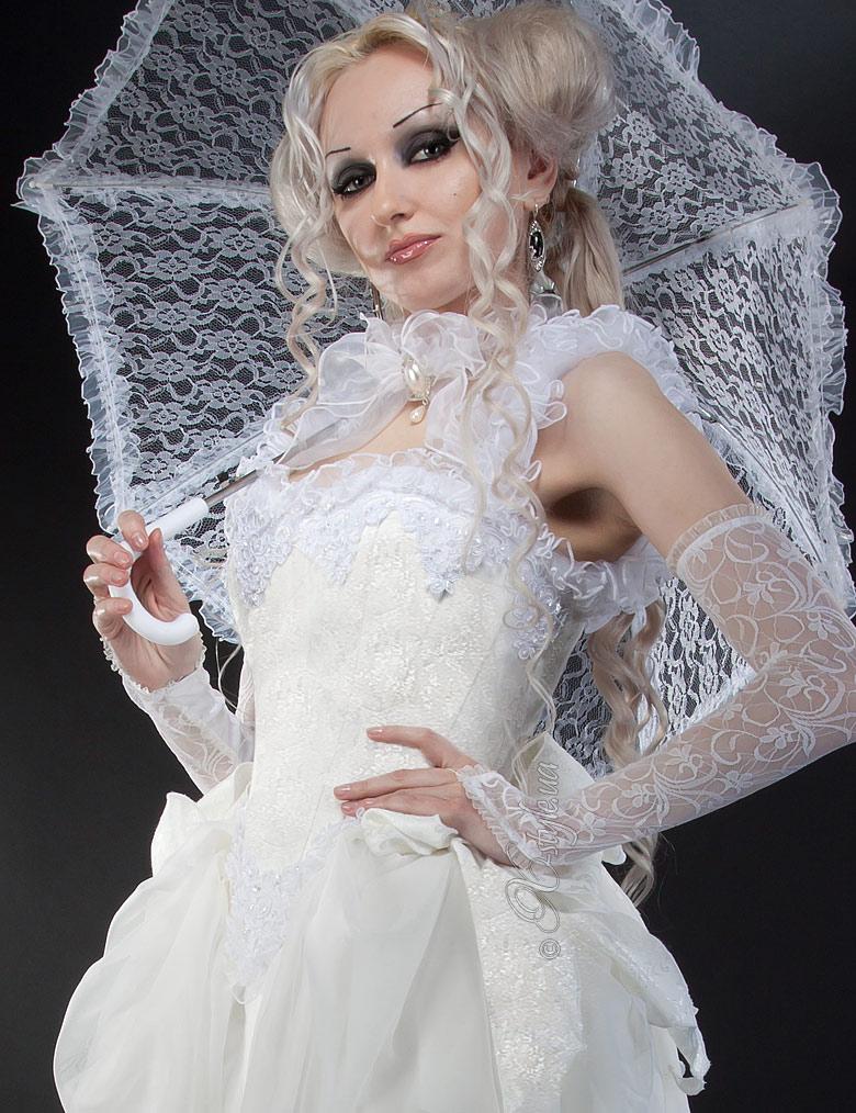 Свадебное платье 2 пол. 19 ст., 3