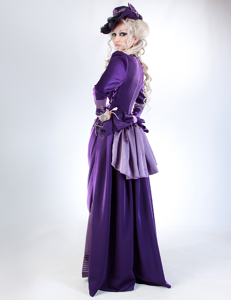 Прогулочное платье в стиле конца 19 ст., 3