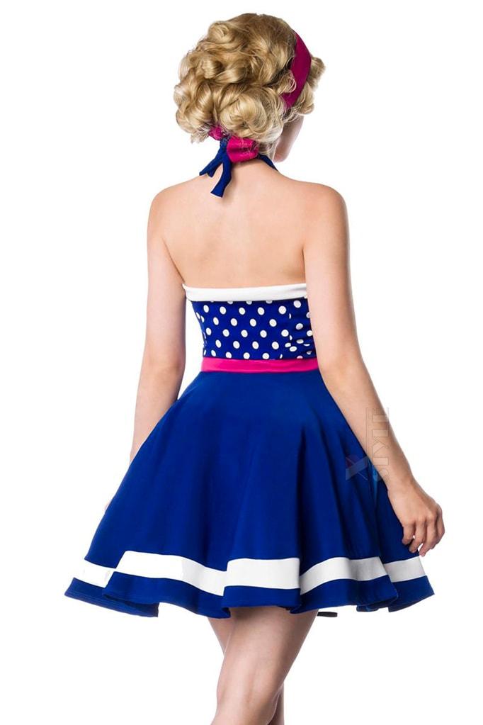 Яркое платье в стиле 60-х B5405, 5