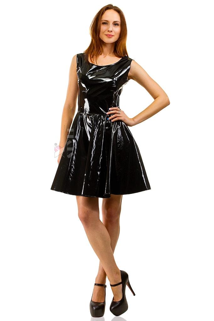 Платье клеш под латекс X-Style, 9