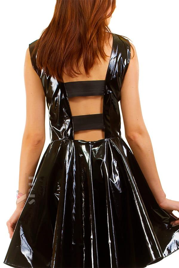 Платье клеш под латекс X-Style, 5