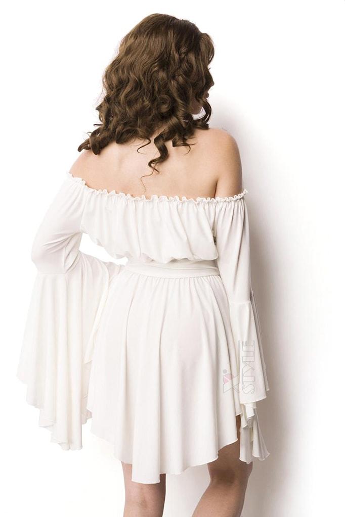 Белое платье-туника Amynetti, 3