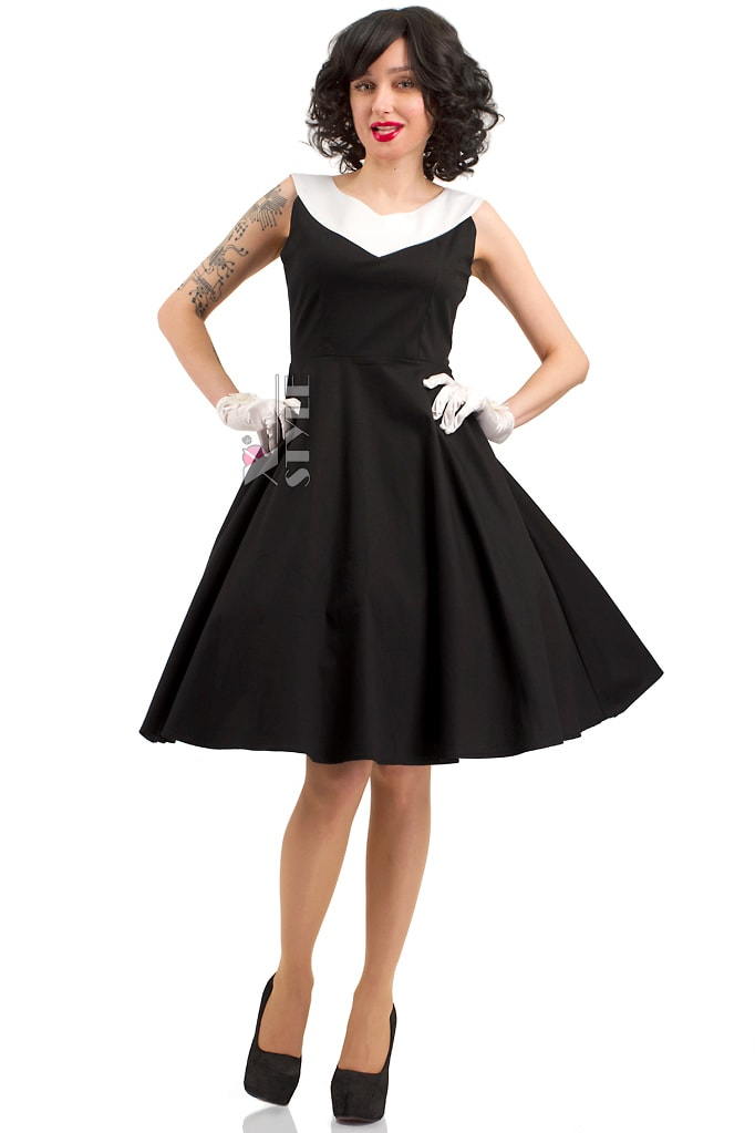 Платье в стиле Ретро X5341, 3