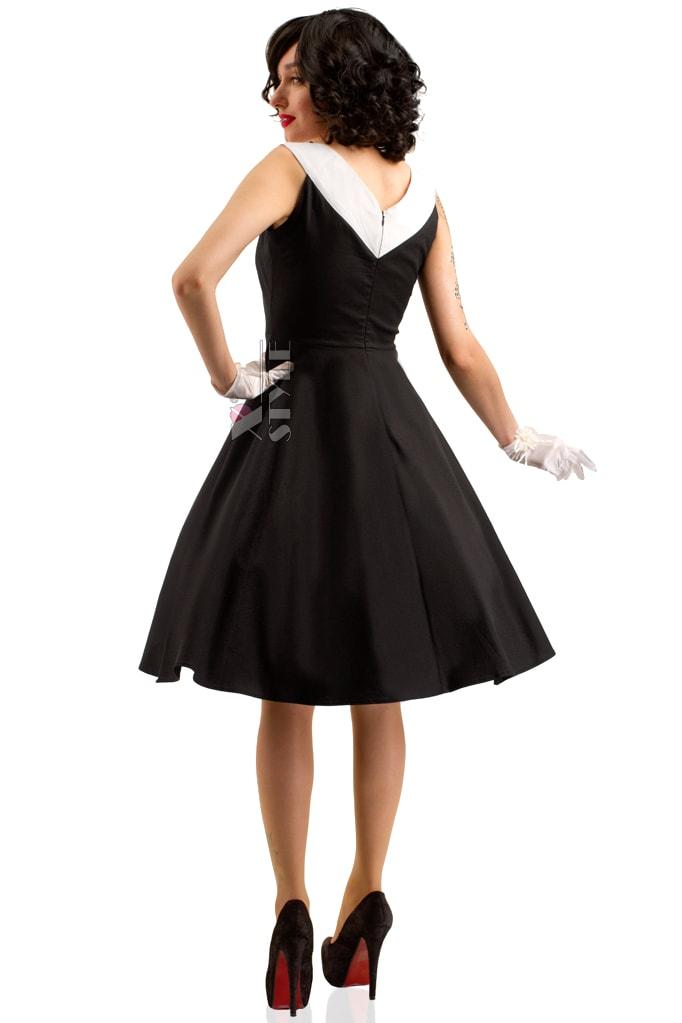 Платье в стиле Ретро X5341, 5
