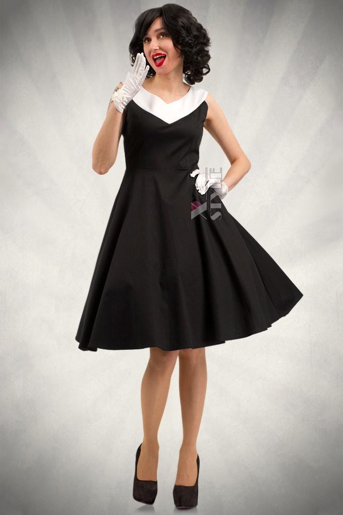 Платье в стиле Ретро X5341, 7
