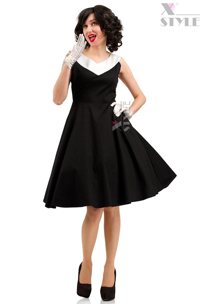 Платье в стиле Ретро X5341