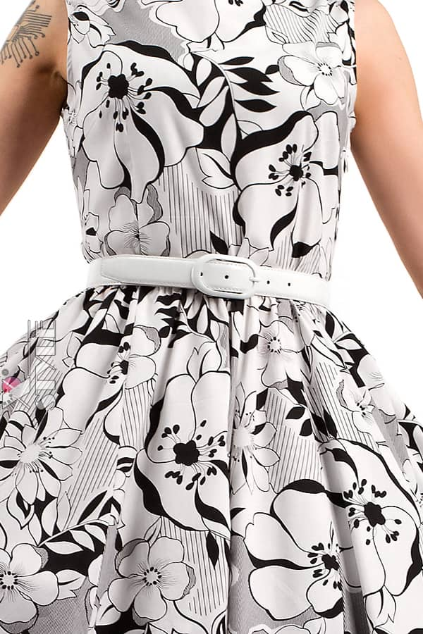Платье Pin-Up с поясом X-Style, 5