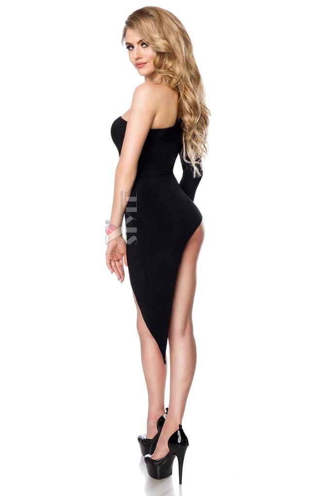 Откровенное асимметричное платье S7151, 5