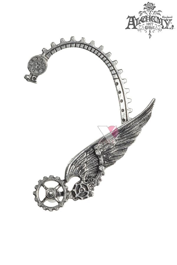 Серьга Steampunk Icarus