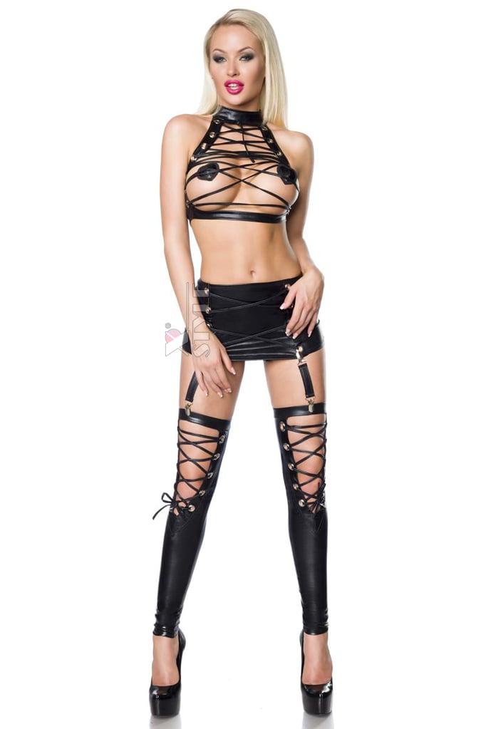 Сексуальный комплект со шнуровками S199, 3