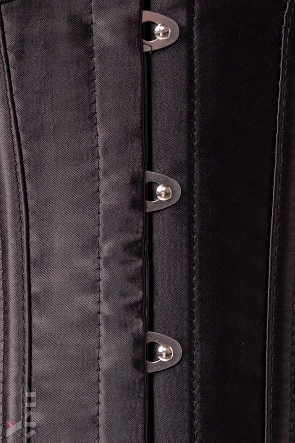 Комплект белья: корсет, бюстгальтер, трусики и перчатки, 7