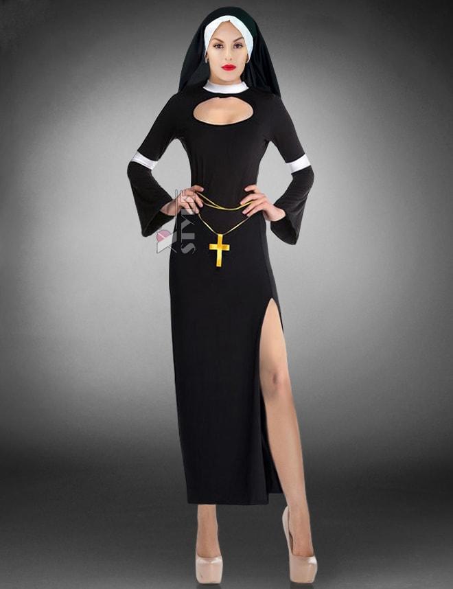 Карнавальный костюм монашки (118030), 3