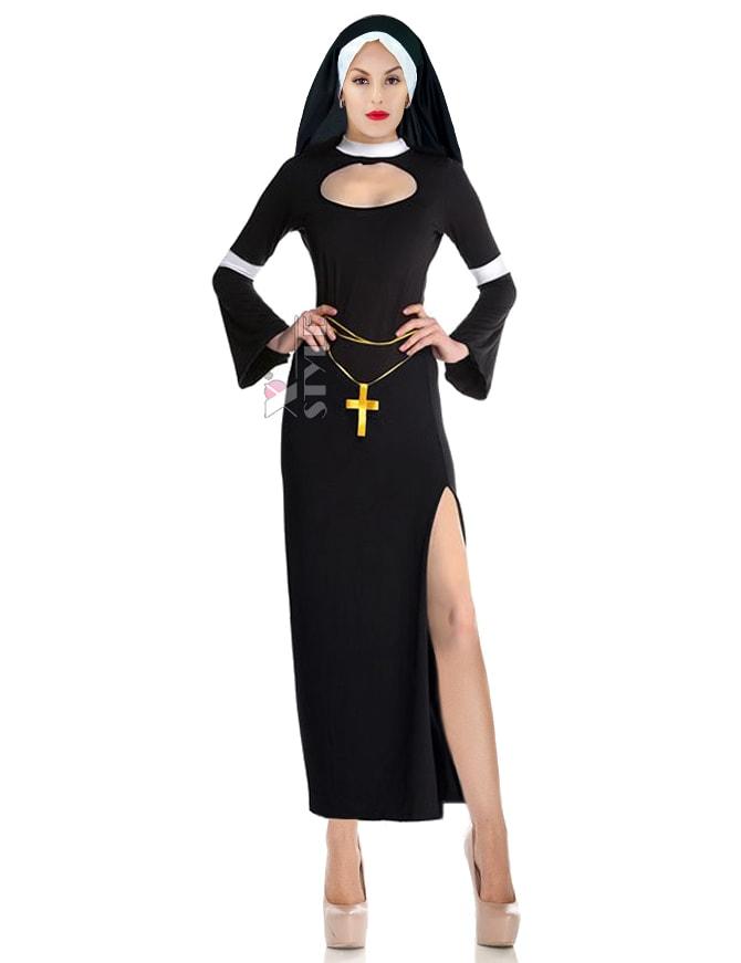 Карнавальный костюм монашки (118030)