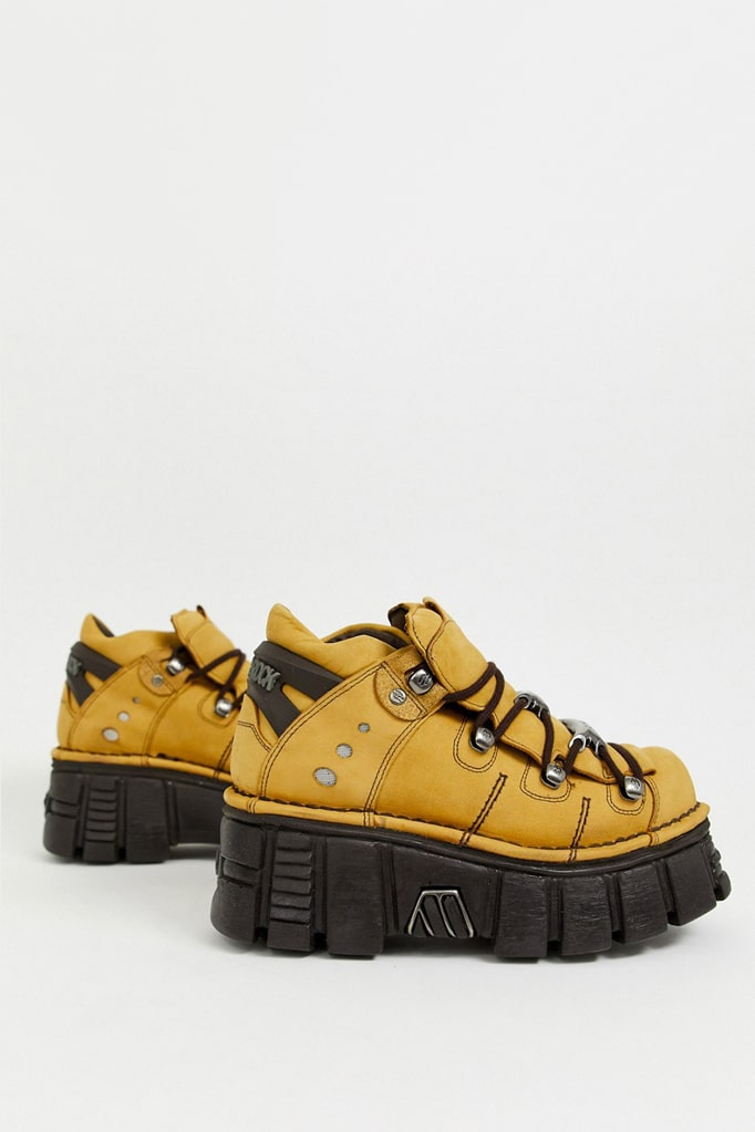 Кожаные кроссовки на платформе New Rock SAPELI, 3