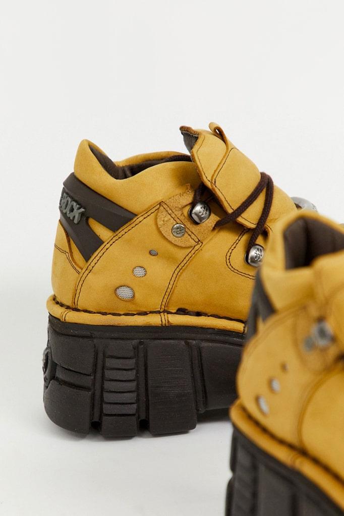 Кожаные кроссовки на платформе New Rock SAPELI, 5