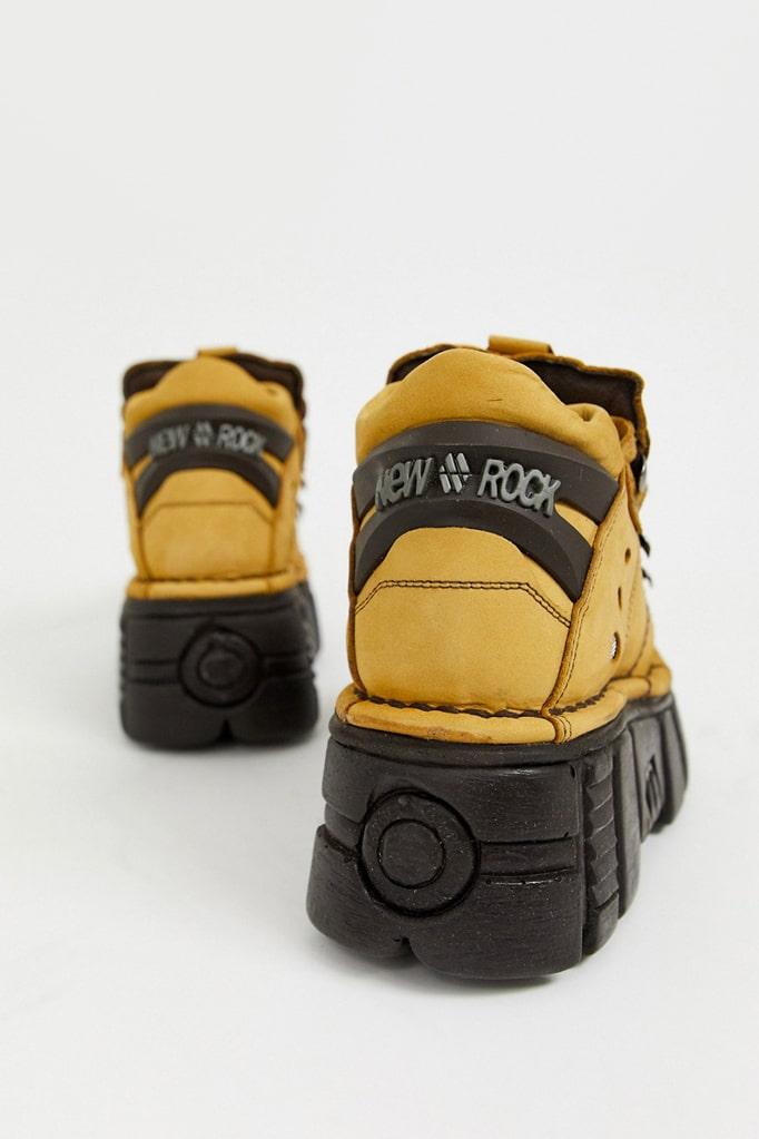 Кожаные кроссовки на платформе New Rock SAPELI, 7