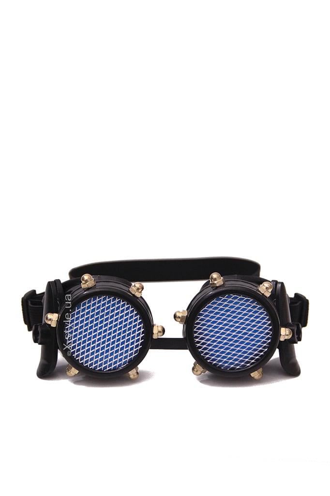 Черные гогглы с подсветкой I5103, 7