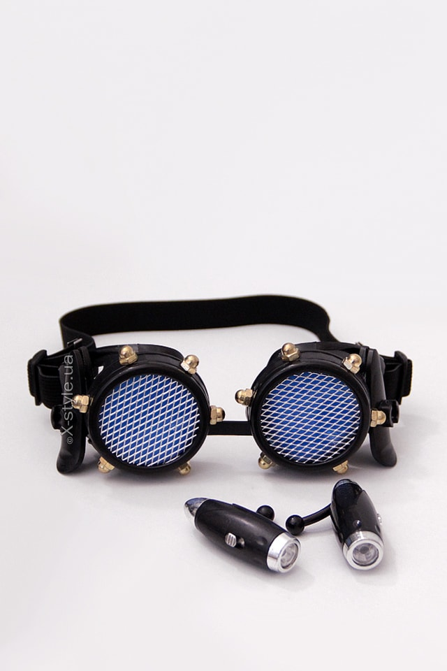 Черные гогглы с подсветкой I5103, 5