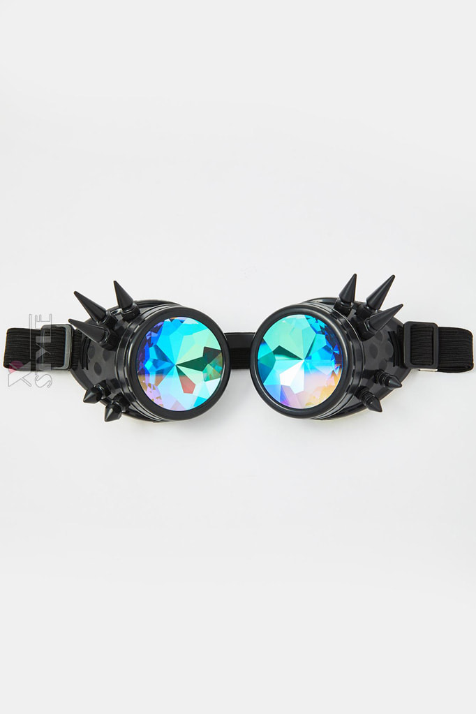 Гогглы калейдоскоп с шипами XTC123, 3