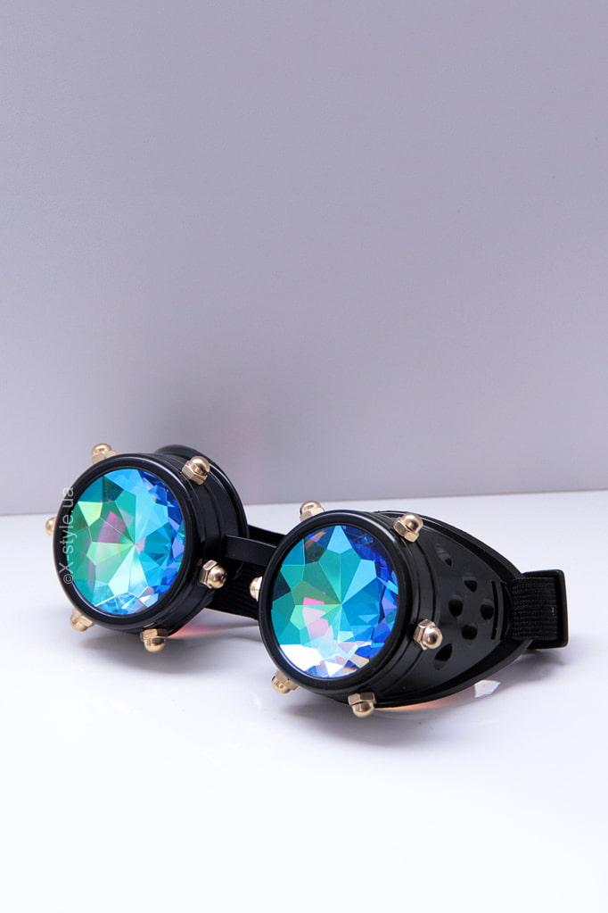 Фестивальные очки-гогглы калейдоскоп X5124, 5