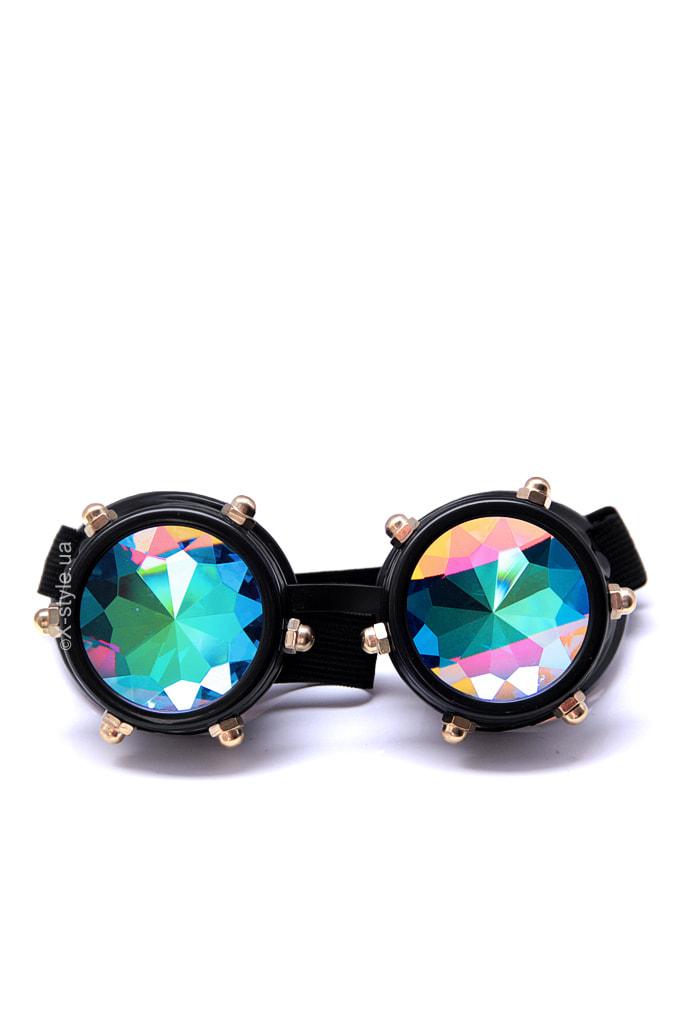 Фестивальные очки-гогглы калейдоскоп X5124, 3
