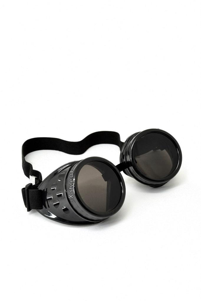 Черные гогглы со съемными линзами IN5084, 5