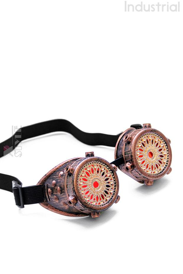 Стимпанк очки Industrial