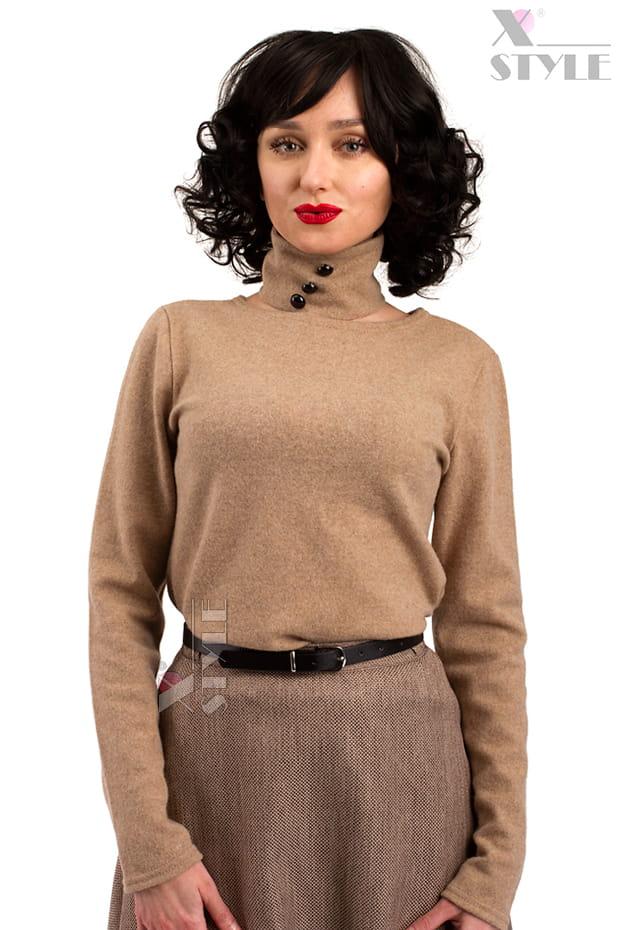 Джемпер женский из овечьей шерсти X1215
