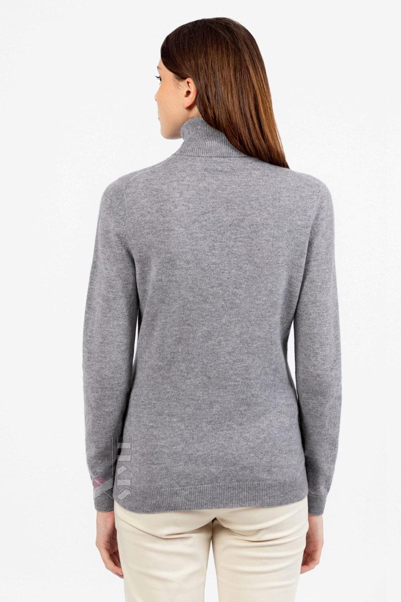 Серый меланжевый свитер XC1031, 7