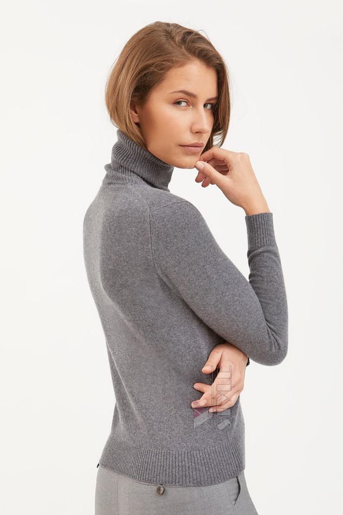 Серый меланжевый свитер XC1031, 5