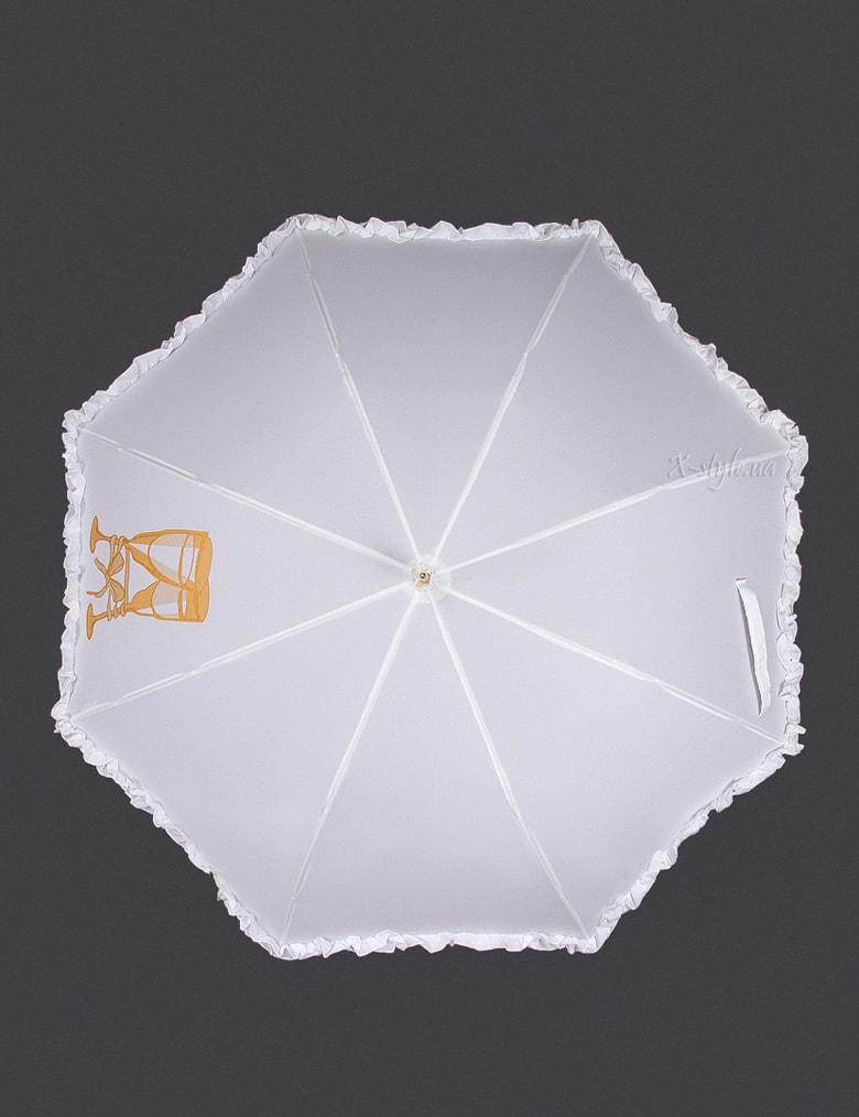 Белый свадебный зонт Sponsa, 3