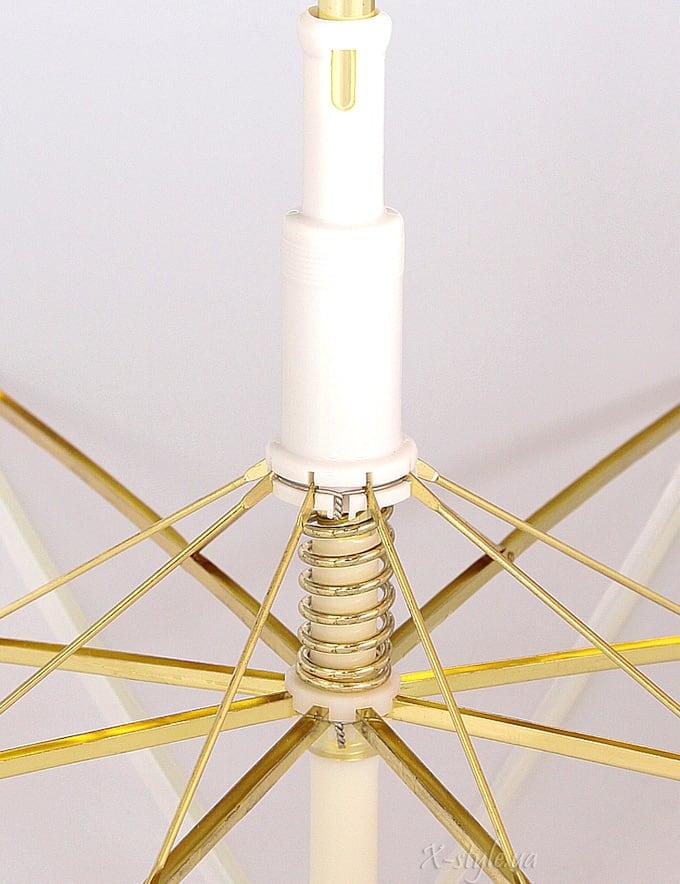 Белый свадебный зонт Sponsa, 9