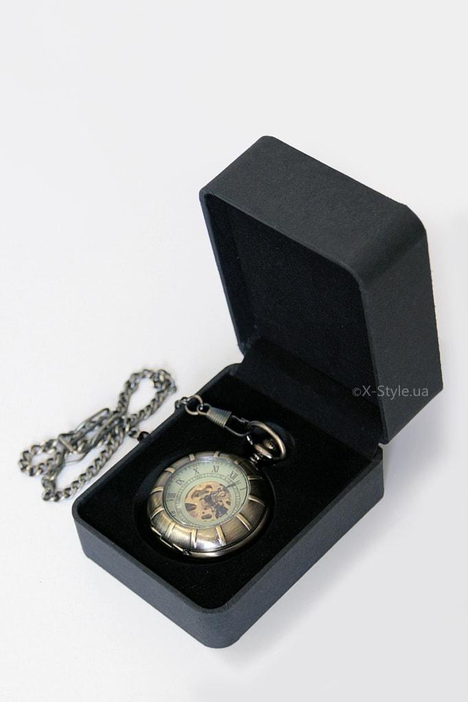 Двусторонние часы в стиле Стимпанк, 5