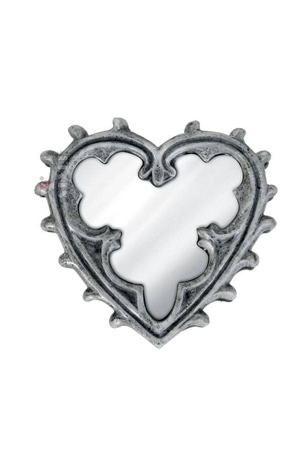 Компактное зеркальце Gothic Heart, 5