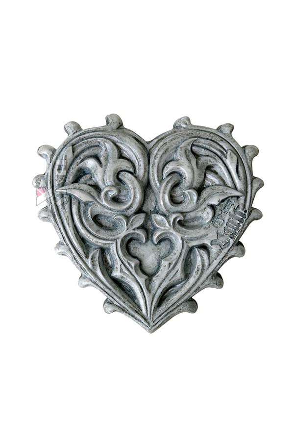 Компактное зеркальце Gothic Heart, 3
