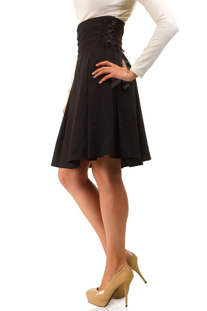 Плиссированная юбка с высокой талией X-Style, 7